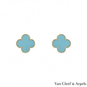 Van Cleef & Arpels Yellow Gold Magic Alhambra Earrings